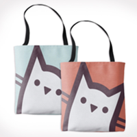 Photo of Cat Tote Bag